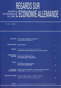 101 | 2011 - Varia - Economie allemande