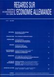 81 | 2007 - Varia - Economie allemande