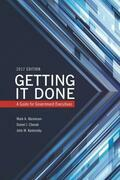 Getting It Done: A Guide for Government Executives