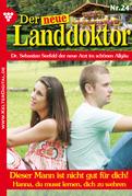 Der neue Landdoktor 24 - Arztroman