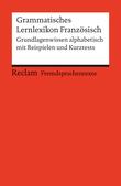 Grammatisches Lernlexikon Französisch