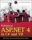 Professional ASP.NET 4 in C# and VB