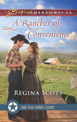 A Rancher Of Convenience (Mills & Boon Love Inspired Historical) (Lone Star Cowboy League: The Founding Years, Book 3)