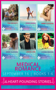 Medical Romance September 2016 Books 1-6: A Daddy for Her Daughter / Reunited with His Runaway Bride / Rescued by Dr Rafe / Saved by the Single Dad / Sizzling Nights with Dr Off-Limits / Seven Nights with Her Ex (Mills & Boon e-Book Collections)