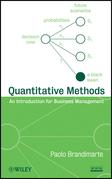 Quantitative Methods: An Introduction for Business Management