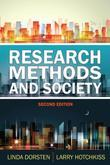Research Methods and Society: Foundations of Social Inquiry