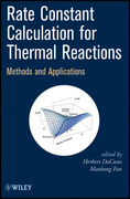 Rate Constant Calculation for Thermal Reactions: Methods and Applications
