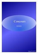 CONCOURS COMMISSAIRE
