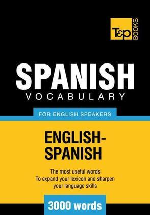 T&P English-Spanish vocabulary 3000 words
