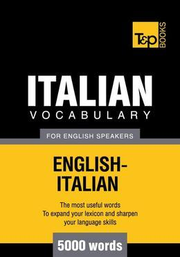 T&p English-Italian Vocabulary 5000 Words