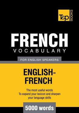 T&p English-French Vocabulary 5000 Words