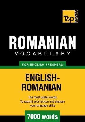 T&p English-Romanian Vocabulary 7000 Words