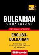 T&amp;P English-Bulgarian vocabulary 9000 words