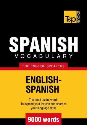 T&p English-Spanish Vocabulary 9000 Words