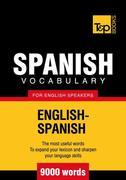 T&amp;P English-Spanish vocabulary 9000 words