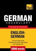 T&amp;P English-German vocabulary 9000 words