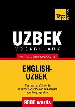T&p English-Uzbek Vocabulary 9000 Words