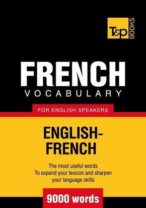 T&P English-French vocabulary 9000 words