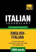 T&P English-Italian vocabulary 7000 words