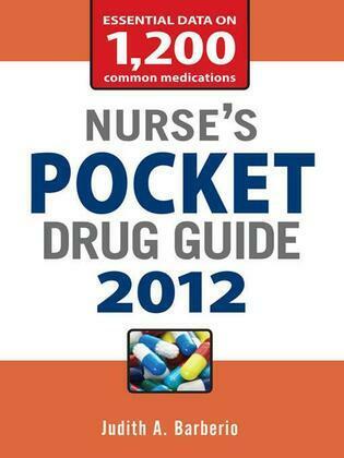 Nurse's Pocket Drug Guide 2012