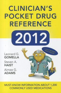 Clinicians Pocket Drug Reference 2012