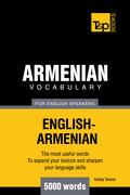T&p English-Armenian Vocabulary 5000 Words