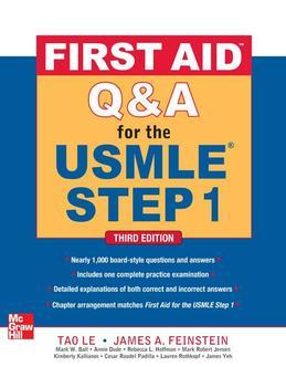 First Aid Q&A for the USMLE Step 1, Third Edition