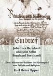 Johannes Bernhard und sein Sohn Bernhard Bernhardi