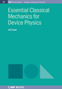 Essential Classical Mechanics for Device Physics