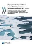 Manuel de Frascati 2015