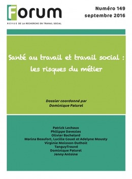 Forum 149 : Santé au travail et travail social : les risques du métier