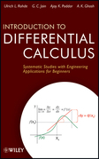 Introduction to Differential Calculus: Systematic Studies with Engineering Applications for Beginners