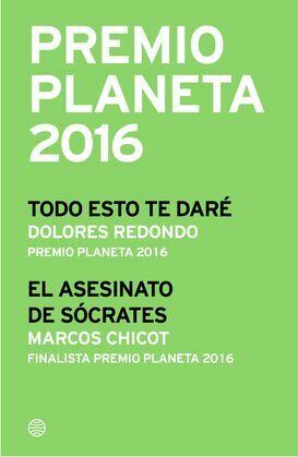 Premio Planeta 2016: ganador y finalista (pack)