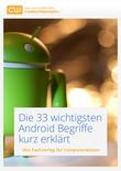 Die 33 wichtigsten Android Begriffe kurz erklärt