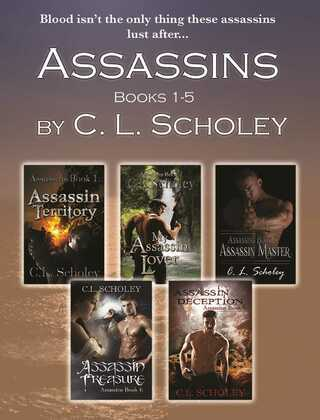 ASSASSINS SERIES- BOOKS 1-5