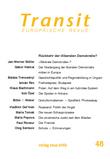Transit 48. Europäische Revue