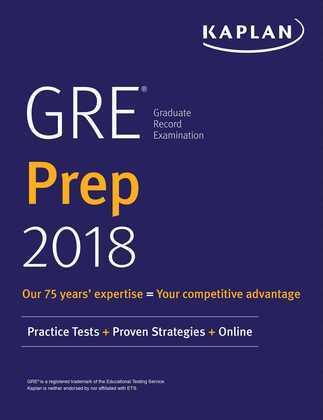 GRE Prep 2018
