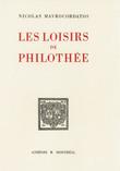 Les loisirs de Philothée