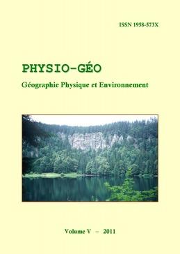 Volume 5 | 2011 - Varia - Physio-Géo