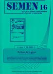16 | 2003 - Rythme de la prose - Semen