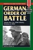 German Order of Battle: 1st-290th Infantry Divisions in WWII