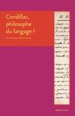 Condillac, philosophe du langage ?