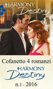 Cofanetto 4 romanzi Harmony Destiny-1