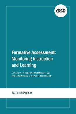 Formative Assessment: Monitoring Instruction and Learning: A Chapter from Instruction That Measures Up