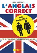 L'anglais correct aux toilettes