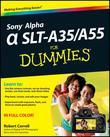 Sony Alpha Slt-A35 / A55 for Dummies