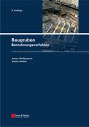 Baugruben: Berechnungsverfahren