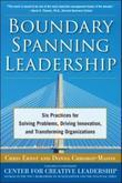 Boundary Spanning Leadership: Six Practices for Solving Problems, Driving Innovation, and Transforming Organizations