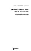 Parcours 1989-2003 Tome 2