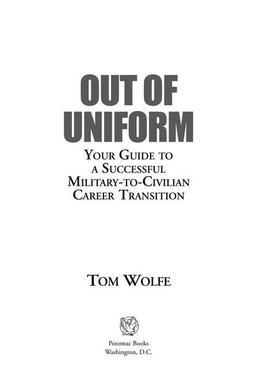 Out of Uniform